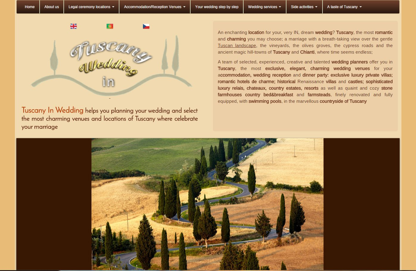 Tuscany In Wedding